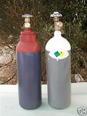 Bombole ossigeno acetilene