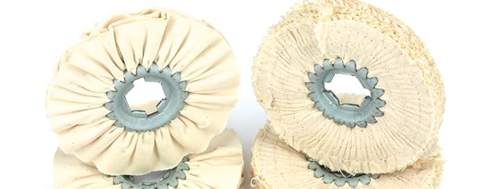 dischi sisal cotone per lucidatura